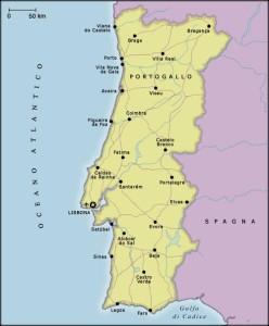 cartina portogallo