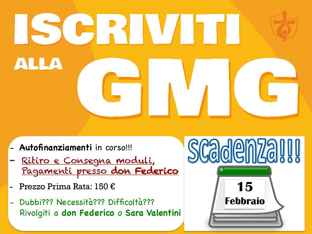 Iscrizione GMG
