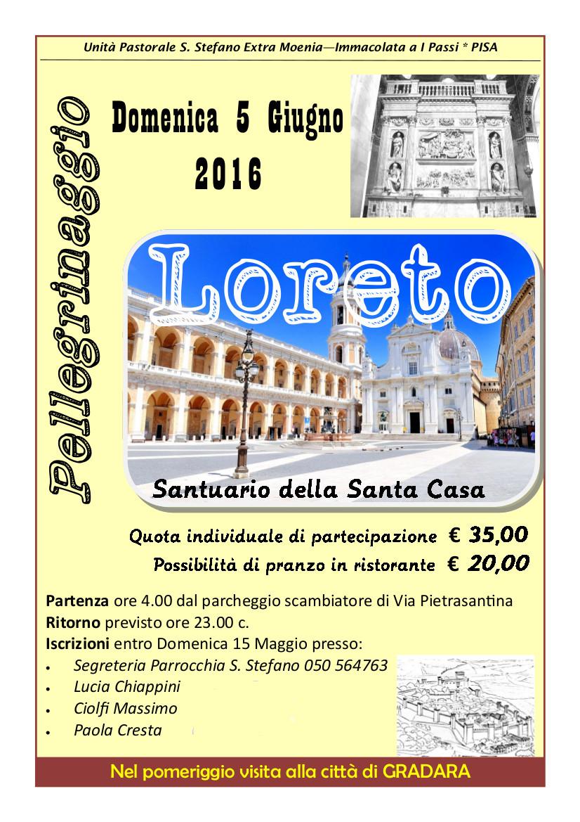 Pellegrinaggio a Loreto