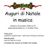 Auguri di Natale in Musica