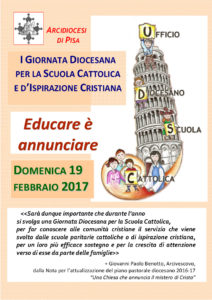 Locandina Giornata Scuola Cattolica
