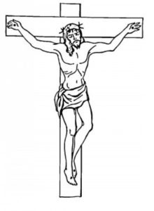 via crucis-Gesù sulla croce