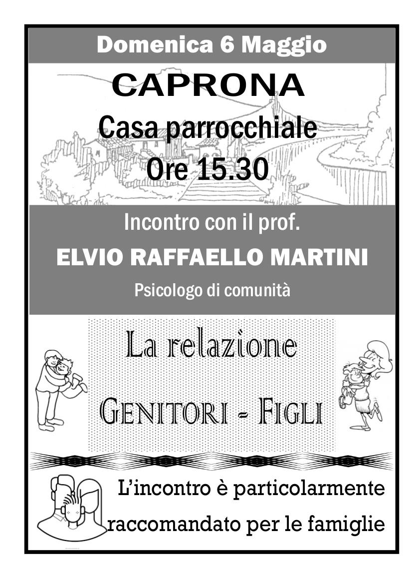 Incontro Famiglie a Caprona: 6 Maggio 2018