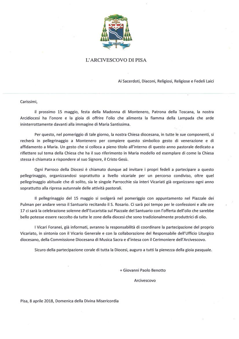 Festa della Madonna di Montenero: Offerta dell'Olio