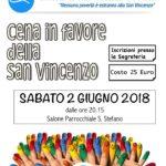 Cena per la San Vincenzo 2018