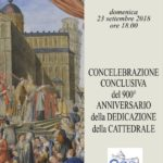 Calebrazione conclusiva Anno della Dedicazione della Cattedrale
