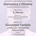 Centenario della morte del B. G. Toniolo