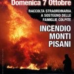 Colletta: Incendio Monti Pisani