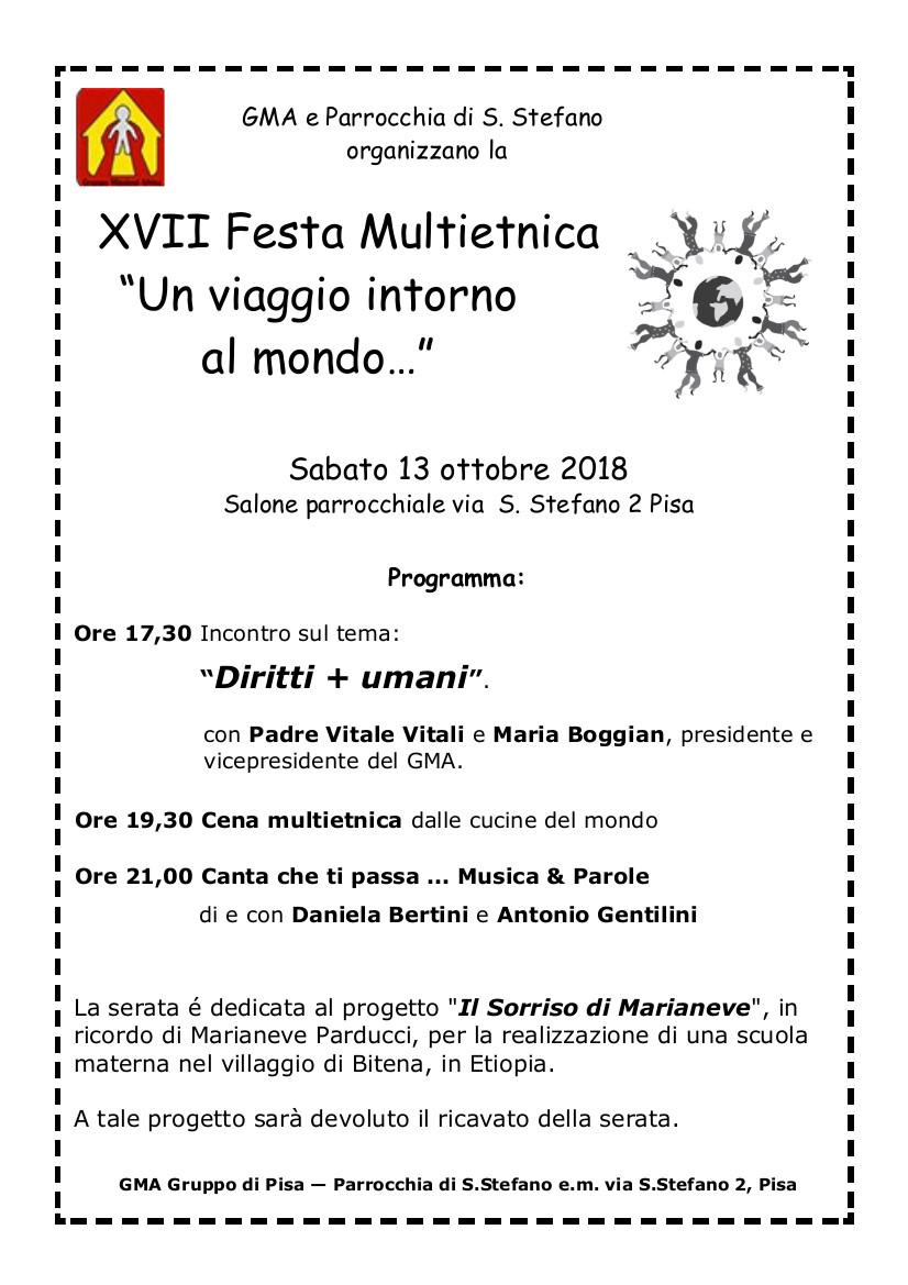 Festa Multietnica 2018