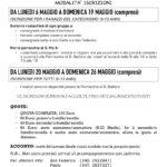 Campi Solari… 3…2…1… via!!!