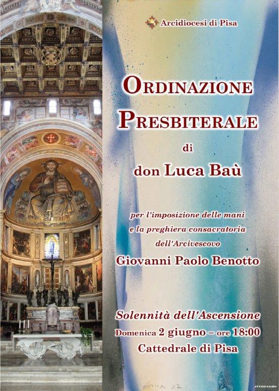 Ordinazione Presbiteriale di don Luca Baù