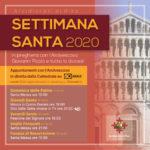 Settimana Santa 2020: celebrazioni con l'Arcivescovo