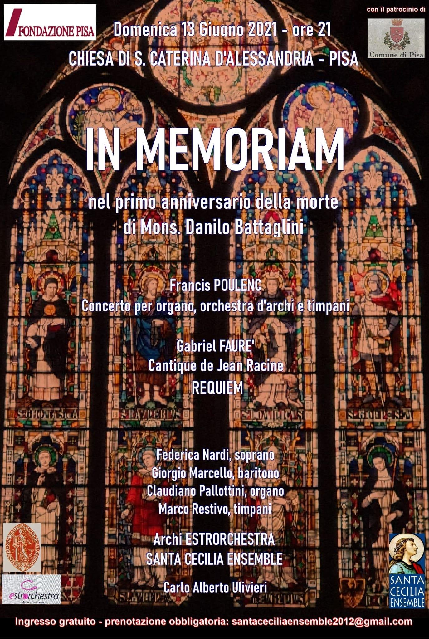 Concerto in Memoria di don Battaglini