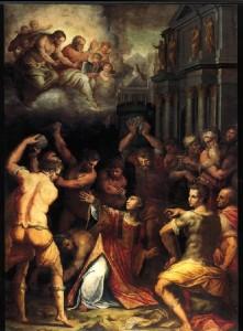 Quadro Santo Stefano del Vasari