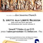 Il Diritto alla Libertà Religiosa