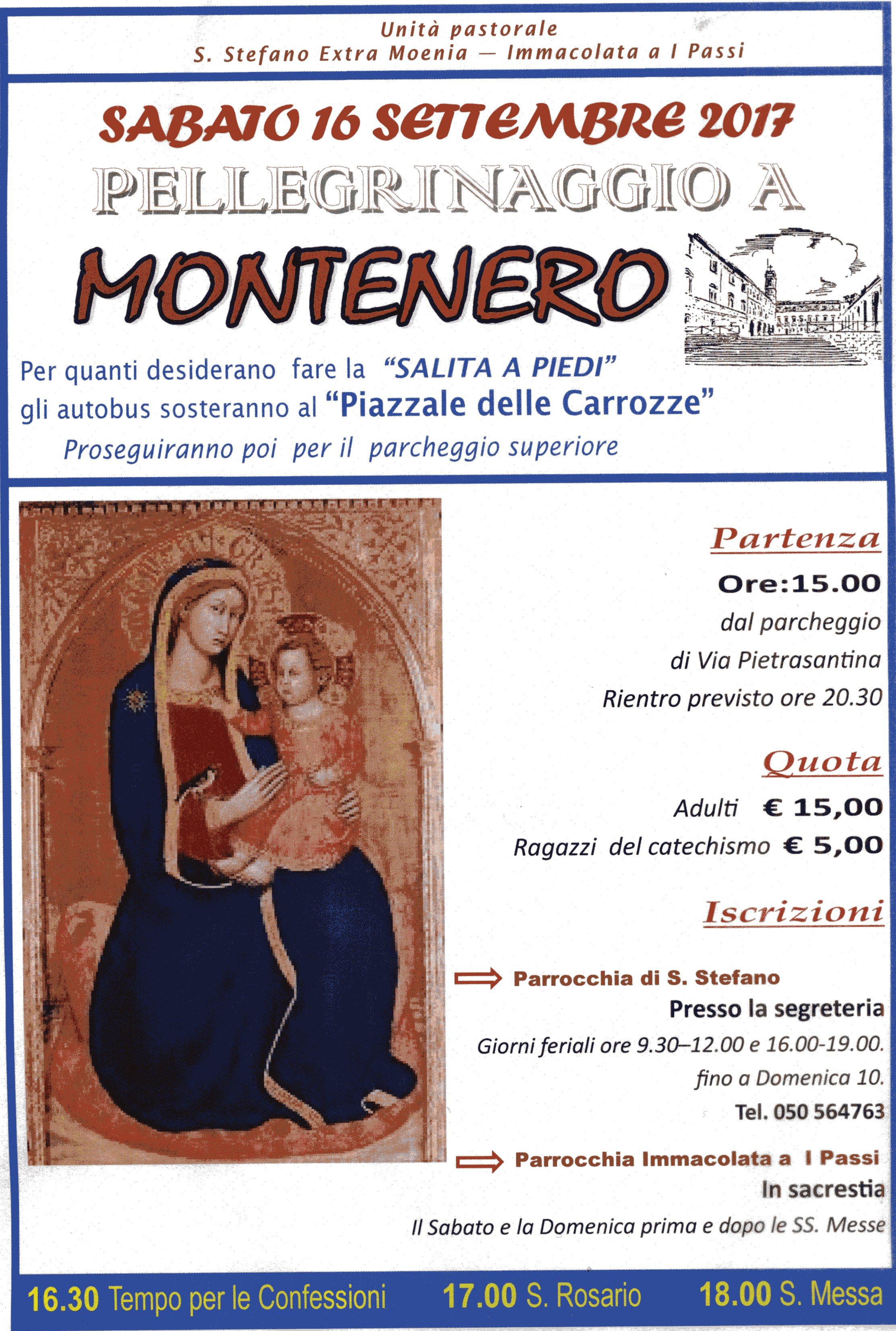 Pellegrinaggio a Montenero