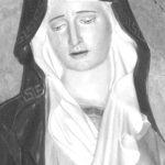 Restaurata la statua della Madonna