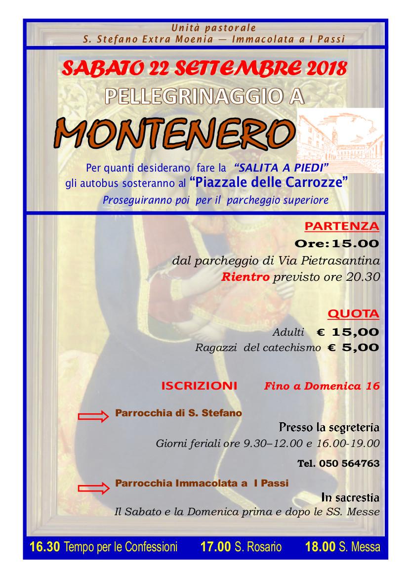 Pellegrinaggio a Montenero 2018