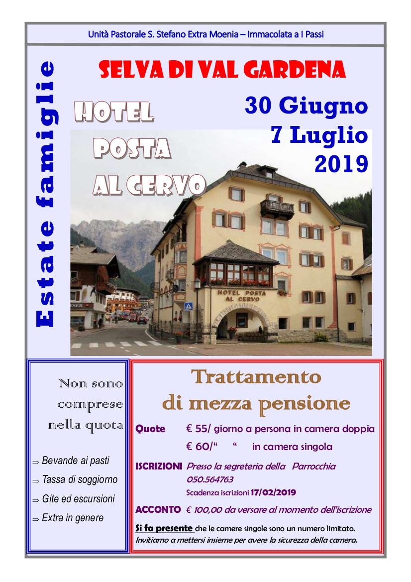 Campo Famiglie 2019