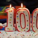 Lucia Varanini alla tappa dei 100 anni