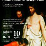 Diaconato di Lorenzo Correnti