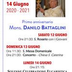 Primo anniversario don Battaglini
