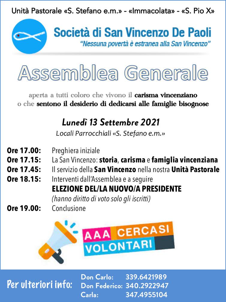 Assemblea Generale della San Vincenzo