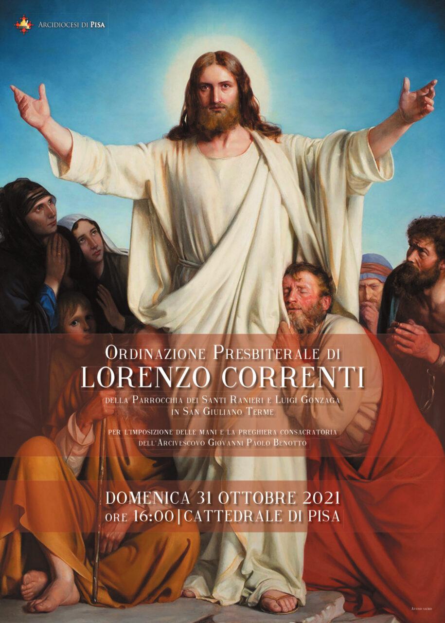 Ordinazione Presbiterale di Don Lorenzo Correnti